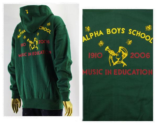SPECIAL ONE スペシャルワン Alpha Boys School 一部ジャマイカのスクールに募金 スウェット プルパーカー メンズ 【6401スクール ボキン】