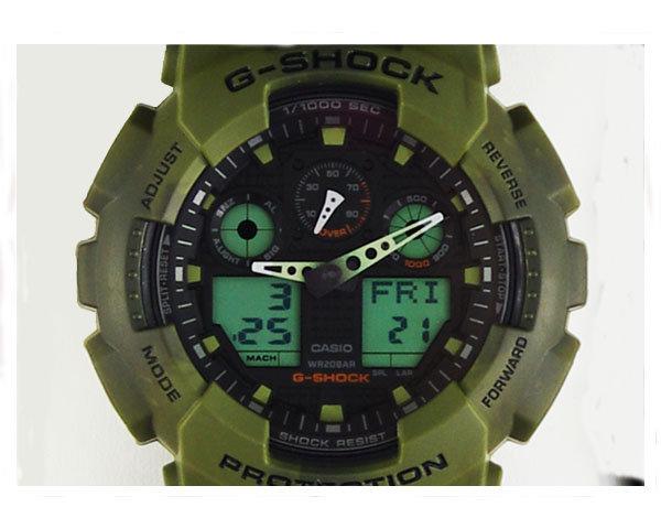G-SHOCK ジーショック BIG CASE ストリートファッション ウオッチ 腕時計 メンズ 【GA-100MM-3AJFカモ】