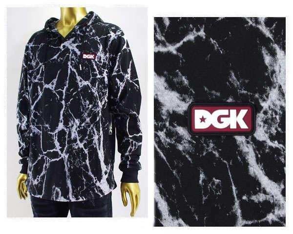 DGK ディージーケー フィラデルフィア発のスケートボードブランド コットンパーカー メンズ 【DG16FU07コンクリートC】