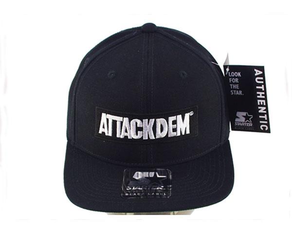 【ATACKDEN】【アタックデン】【レゲエ ダンス クルー ATTACKDEM アタックデン キャップ】【メンズ】 ATACKDEN アタックデン レゲエ ダンス クルー ATTACKDEM アタックデン キャップ(CAP) メンズ 【AT-CA-BK-02STAR】