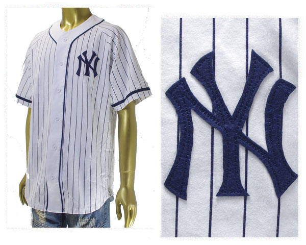 outlet store fd09c 1475d MAJESTIC majestic New York Yankees NY Yankees baseball shirt men