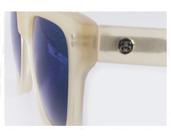 STUSSY ステューシー NORTON SUNGLASS MATTE CHAMPAGNE/BLUE MIRROR UV サングラス メンズ 【140012 NORTON】