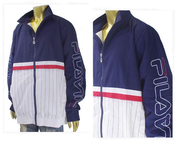 FILA フィラ Primo Shell Suit Jacket シェルスーツ ナイロン ジップ ジャケット ブルゾン メンズ 【LM171 PRIMO】