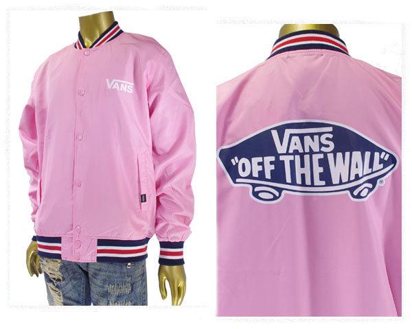 VANS バンズ Line Rib Stadium Jacket シンプルながらレトロな雰囲気のラインリブ スタジアムジャケッ メンズ 【VA17FW-MJ11 SIT】