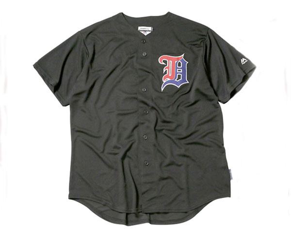 DREAM TEAM ドリームチーム D LOGO 2018 MAJESTIC BASEBALL JERSEY ベースボールシャツ メンズ 【DT-375 MAJESTIC】