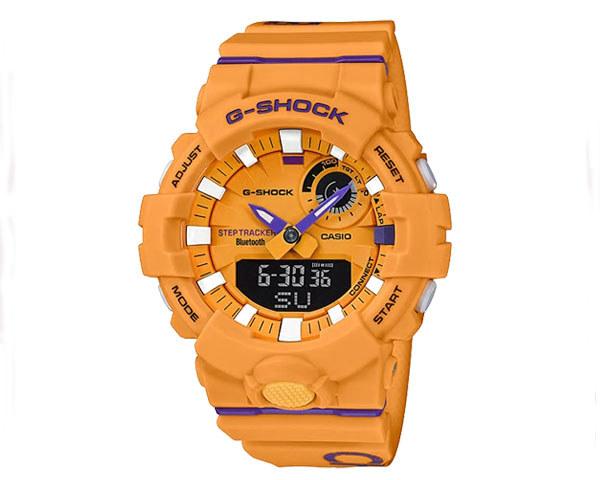 G-SHOCK ジーショック Bluetoothスマートフォンリンク機能 スポーツラインG-SQUAD モデル DAGGER 3 COLOR ウオッチ メンズ 【GBA-800DG-9AJF】