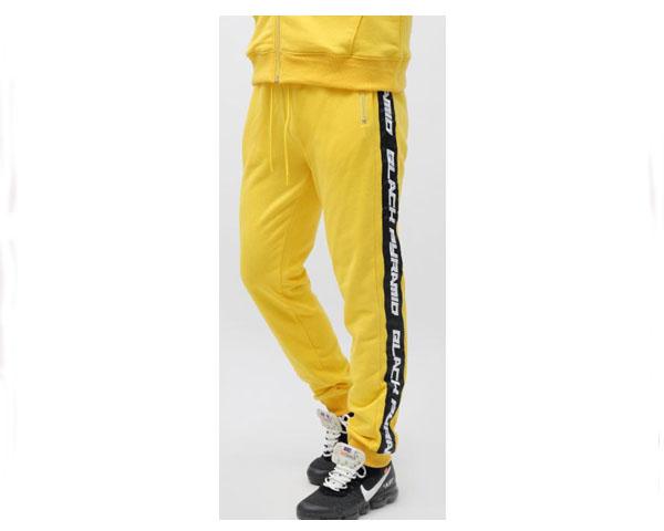 BLACK PYRAMID ブラックピラミッド Chris Brown(クリスブラウン)プロデュース TRACK PANTS トラック スウェット ジャージ パンツ メンズ 【Y4161868 JOGGER】