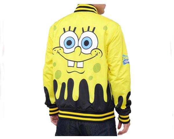 FREEZE MAX フリーズマックス The Sponge Bob Comic Strip Reversible Jacket USAライセンス商品 スポンジボブ リバーシブル ジャケット メンズ 【SB60067 リバーシブ】