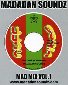 試聴あり MAD MIX VOL.1 MADADAN SOUNDZ あす楽対応 別倉庫からの配送 使い勝手の良い