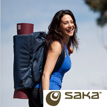 Shaka PINDA Yoga back pack colour: gunmetal * mats sold separately.