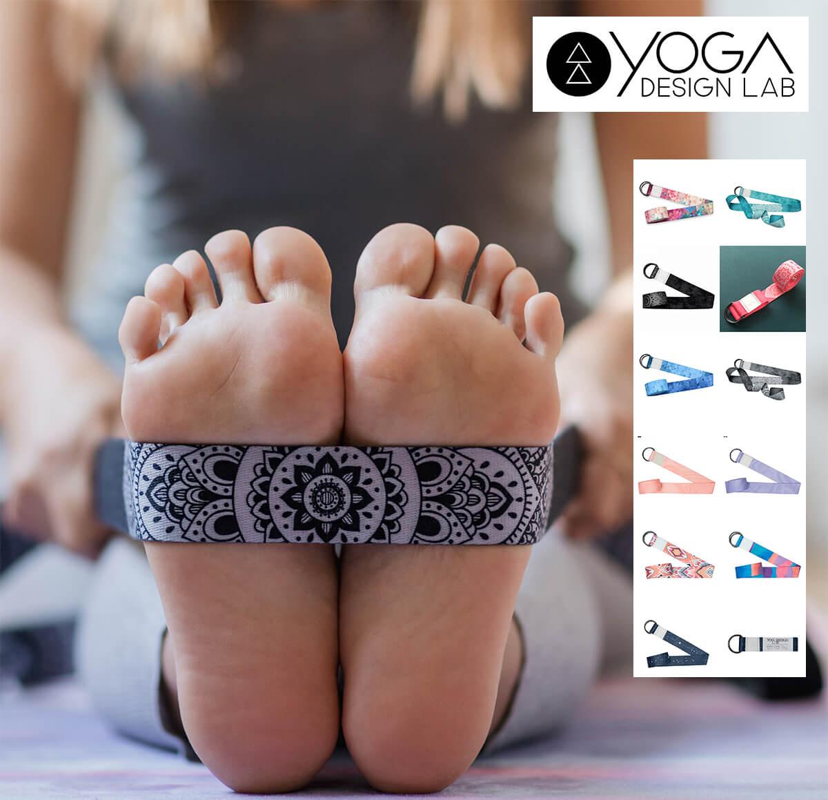 ヨガデザインラボ ヨガベルト ヨガストラップ 全店販売中 プロップス YogaDesignLab ホットヨガ ヨガ お買得 ピラティス 柄 ロング