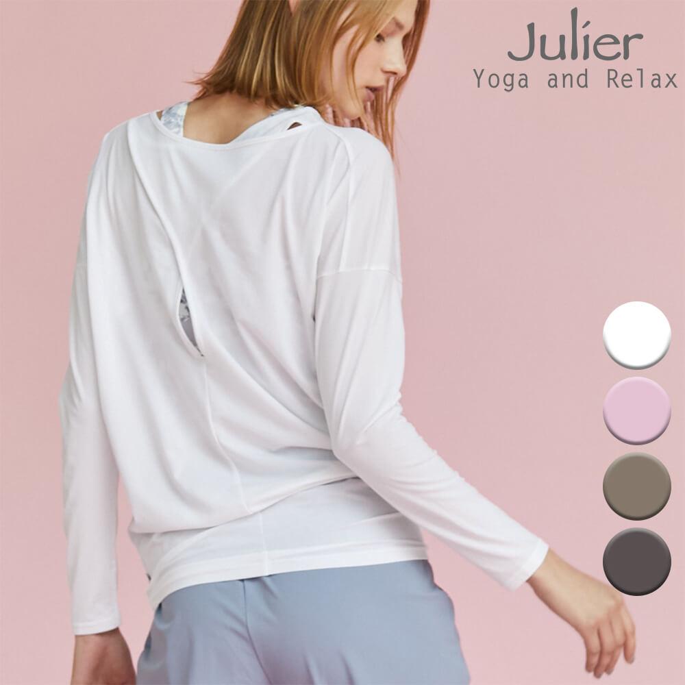 Julier ジュリエ ヨガウェア トップス Tシャツ ライトプライムロングスリーブプルオーバー