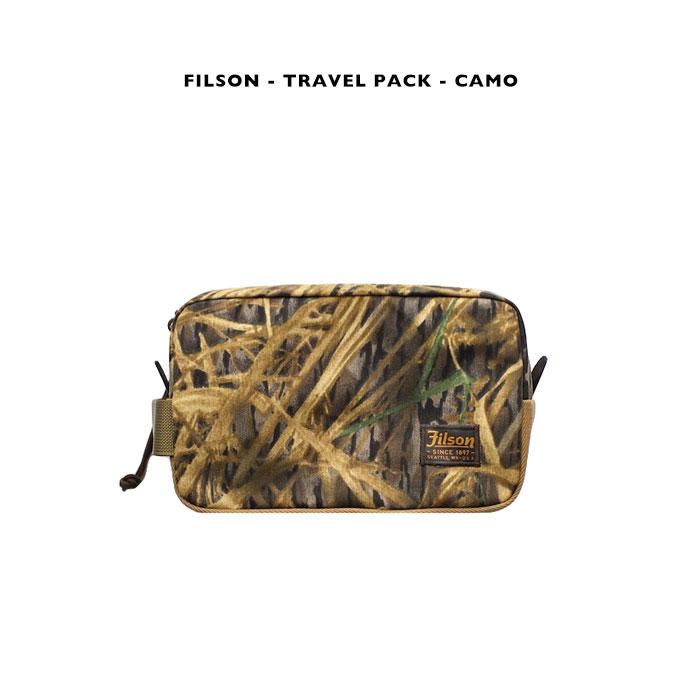 FILSON - TRAVEL PACK - CAMO【国内正規】フィルソン 《トラベルパック》カモフラージュ