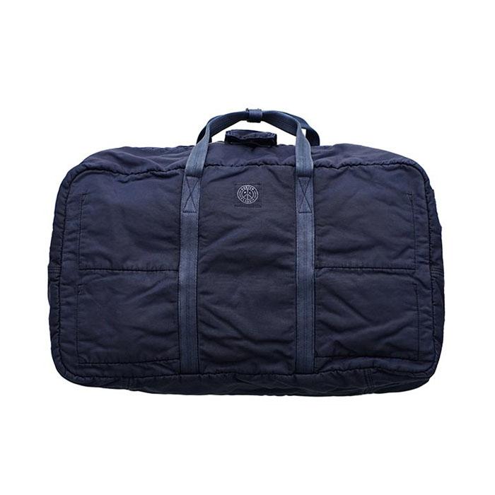 カバン業界初となるナイロン製品染めシリーズ Porter Classic - セール SUPER NYLON TRAVEL INDIGO M》インディゴブルー M 内祝い BOSTON BLUE 《スーパーナイロントラベルボストン