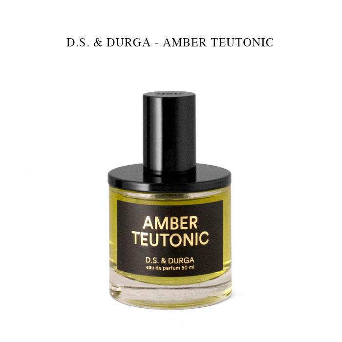 訳ありセール 格安 贈答 原生林の力強さの後に 柔らかな温かみがやってくる香り - 0000000650012 D.S. DURGA AMBER TEUTONIC ディーエス オードパルファム アンバーチュートニック 国内正規 50ml ダーガ 香水