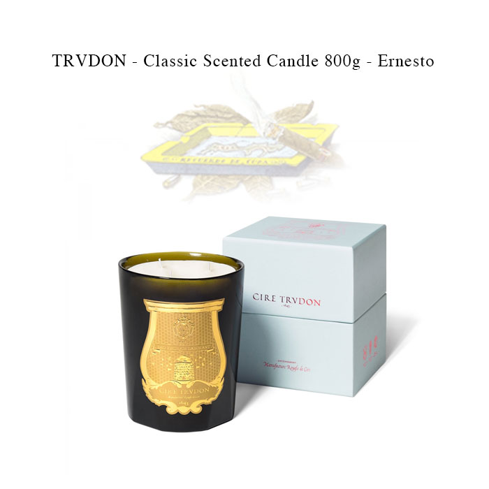 TRVDON - Classic Scented Candle 800g - Ernesto【国内正規】クラッシックセンテッドキャンドル エルネスト シール トゥルドン TRUDON