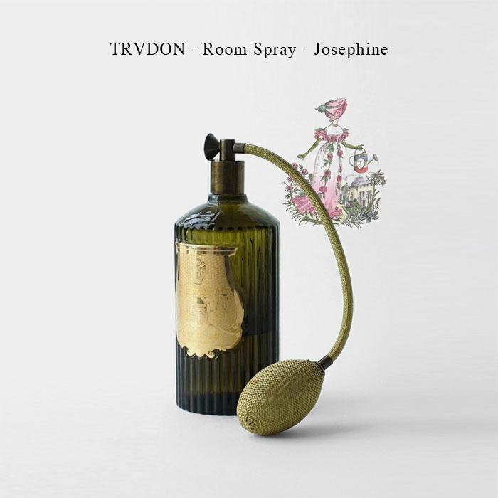TRVDON - Room Spray - Josephine【国内正規】シグネチャーフレグランス ルームスプレー 375ml シール トゥルドン TRUDON