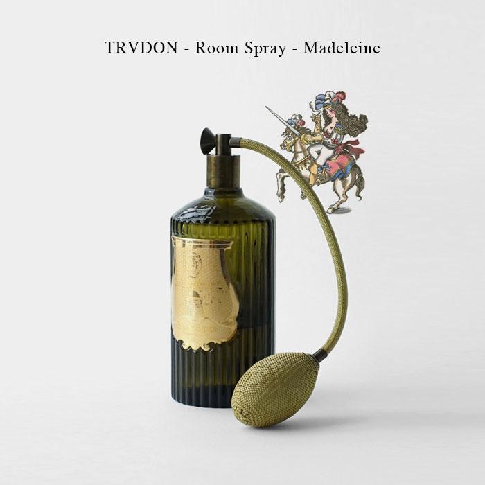 TRVDON - Room Spray - Madeleine【国内正規】シグネチャーフレグランス ルームスプレー 375ml シール トゥルドン TRUDON
