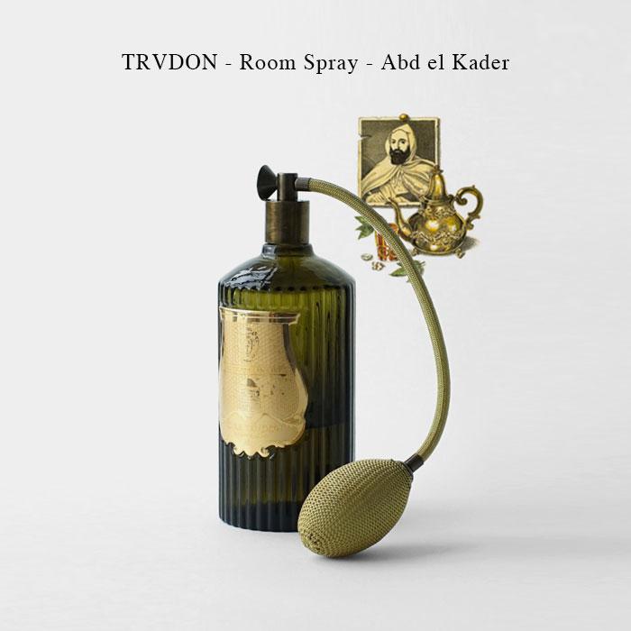 TRVDON - Room Spray - Abd el Kader【国内正規】シグネチャーフレグランス ルームスプレー 375ml シール トゥルドン TRUDON