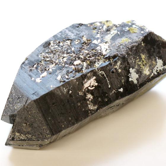 原石 黒水晶03(天然石 パワーストーン モリオン 中国産) メール便不可