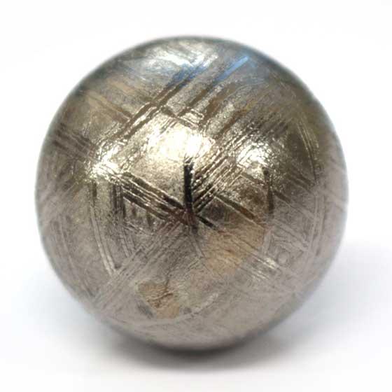 スウェーデン産メテオライト鉄質隕石20mm球体 メール便不可