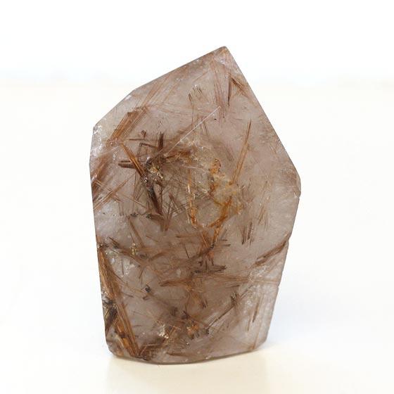 ブラジル産ルチルクォーツポイント原石磨き02(天然石 置き物 パワーストーン 置き物 置き石)メール便不可, ブランディング:6a1363e6 --- sunward.msk.ru