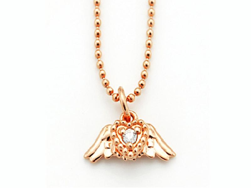 アンジェラ Angela ネックレス ソアリングハートネックレス ゴールド 18k 18金 ダイヤモンド ジュエリー ブランド アクセサリー プレゼント ギフト 正規品 レディース