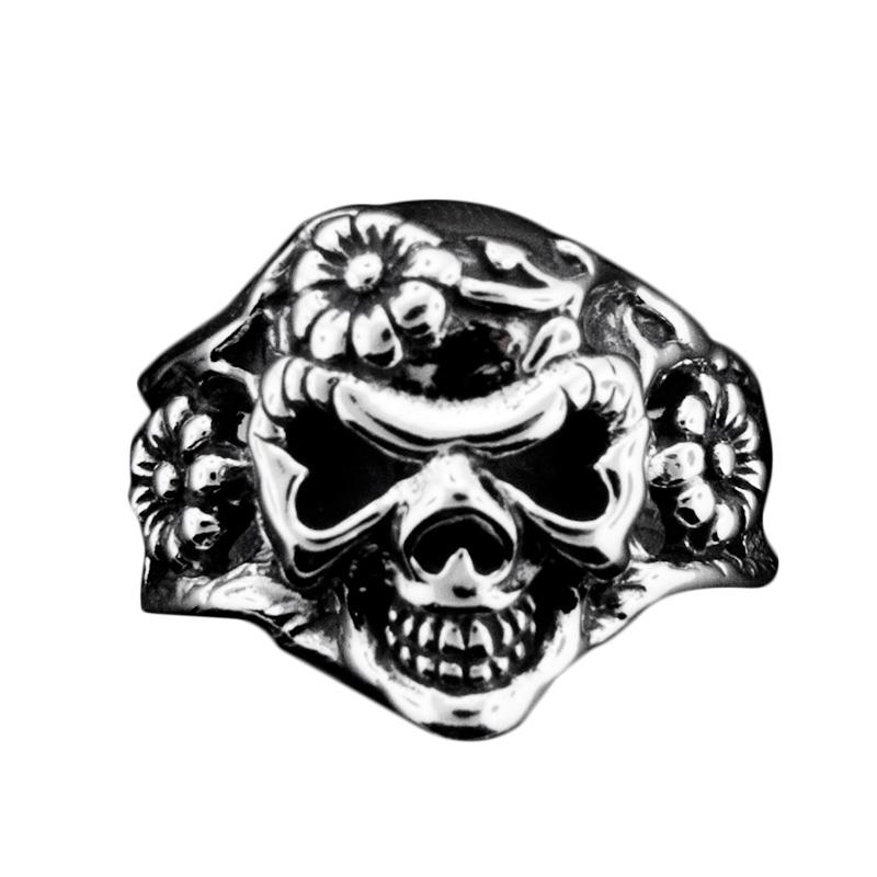 トラヴィスワーカー TRAVISWALKER リング デイジースカルリング シルバー ジュエリー ブランド アクセサリー プレゼント ギフト 正規品 レディース メンズ