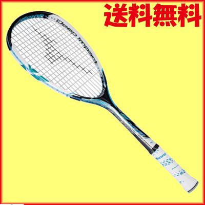 ガット無料◆工賃無料◆送料無料◆MIZUNO◆2014年12月発売◆ディープインパクト S-COMP 63JTN55124 ソフトテニスラケット ミズノ
