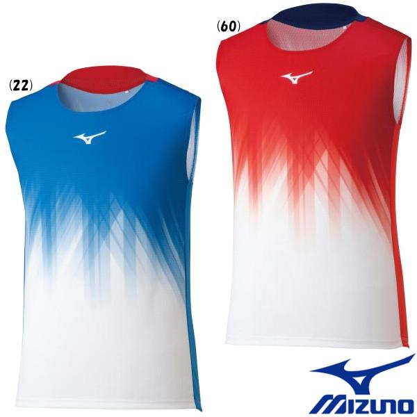 ミズノ ユニセックス ウエア 売り込み テニス 送料無料 MIZUNO バドミントン ドライエアロフローゲームシャツ 62JA1520 売店 2021年6月発売 ウェア ノースリーブ