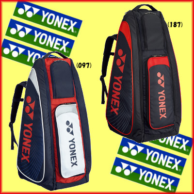 送料無料◆YONEX◆2017年8月中旬発売◆スタンドバッグ(リュック付)〈テニス2本用〉BAG1819 バッグ ヨネックス