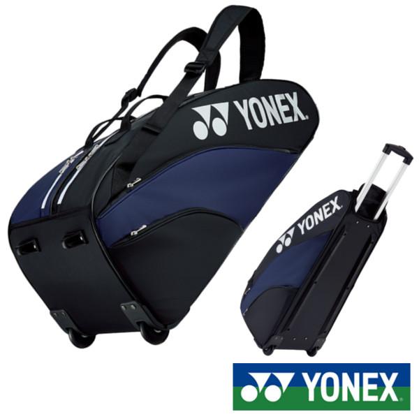 送料無料◆YONEX◆2019年1月下旬発売◆ラケットバッグ(キャスター付)〈テニス6本用〉 BAG1932C バッグ ヨネックス