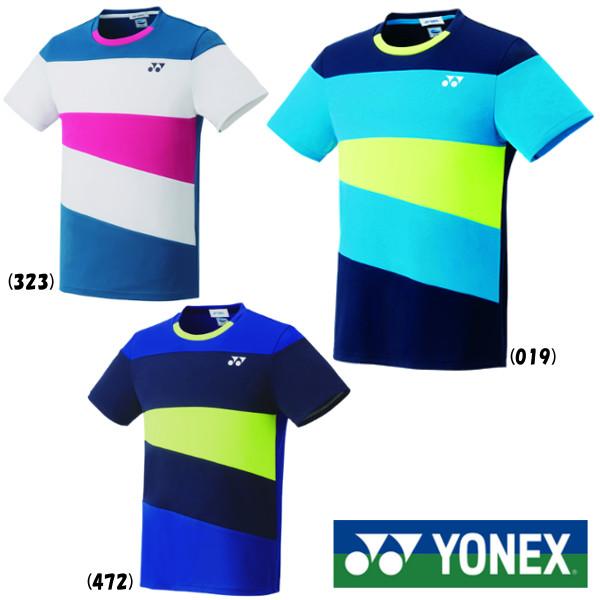 送料無料◆YONEX◆2019年5月中旬発売◆ユニセックス ゲームシャツ(フィットスタイル) 10314 テニス バドミントン ウェア ヨネックス