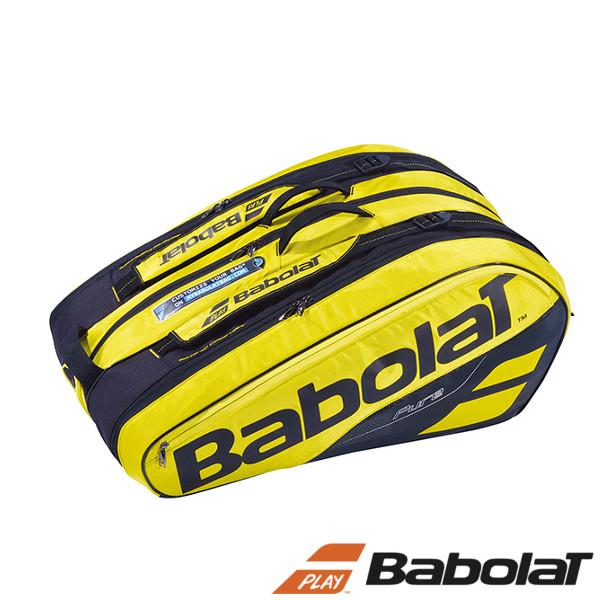 送料無料◆BabolaT◆2018年10月発売◆ラケットバッグ(ラケット12本収納可) BB751180 バッグ バボラ