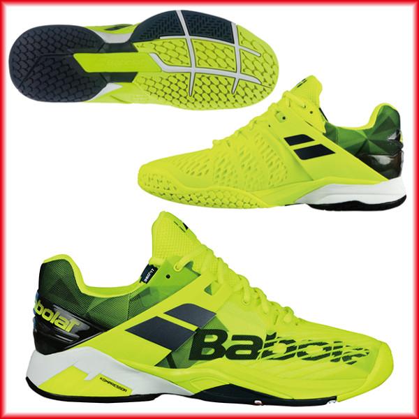 送料無料◆Babolat◆2018年発売◆プロパルス フューリー オールコート M BAS18208 テニスシューズ オールコート用 バボラ