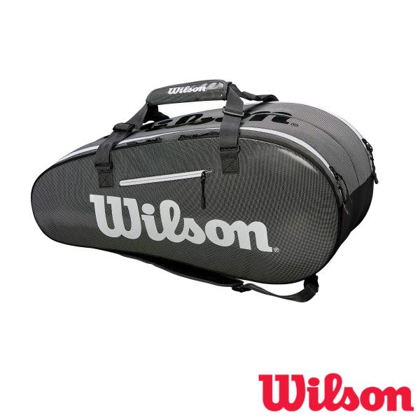 送料無料◆WILSON◆2019年1月発売◆SUPER TOUR 2 COMP BKGY LARGE スーパーツアー2 WRZ843909 ウィルソン バッグ