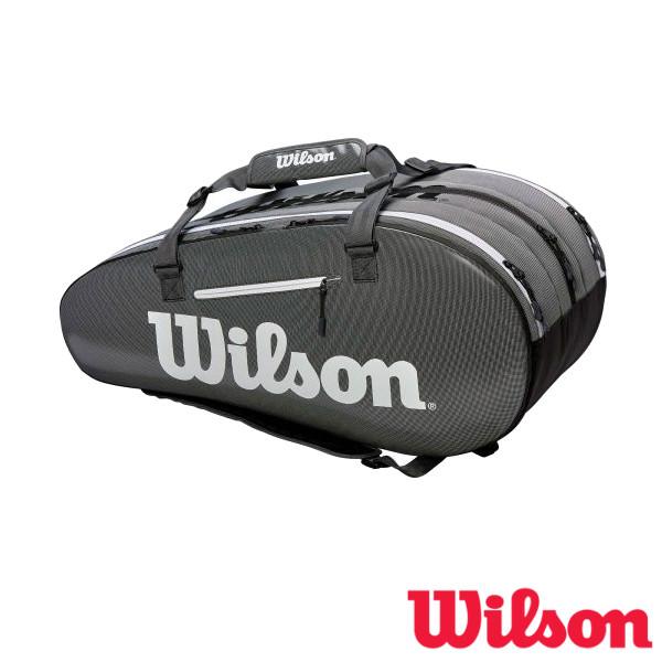 送料無料◆WILSON◆2019年1月発売◆SUPER TOUR 3 COMP BKGY スーパーツアー3 WRZ843915 ウィルソン バッグ