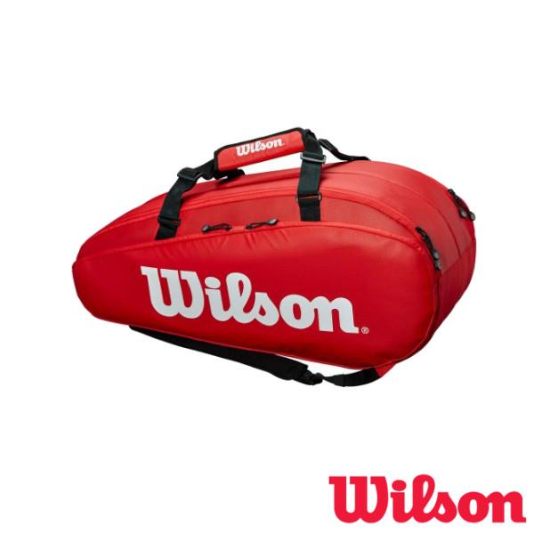 送料無料◆WILSON◆2019年1月発売◆TOUR 2 COMP 赤 LARGE ツアー2 レッド ラージ WRZ848909 ウィルソン バッグ