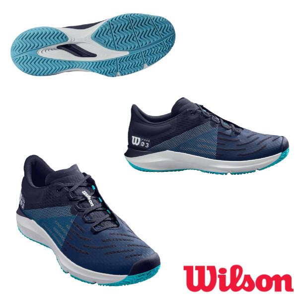送料無料◆WILSON◆2020年2月発売◆KAOS 3.0 AC メンズ ケイオス WRS325920U ウィルソン テニスシューズ オールコート用