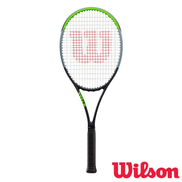 10%OFFクーポン対象◆送料無料◆Wilson◆2019年8月発売◆BLADE 98(18x20) V7.0 WR013711S ウィルソン 硬式テニスラケット
