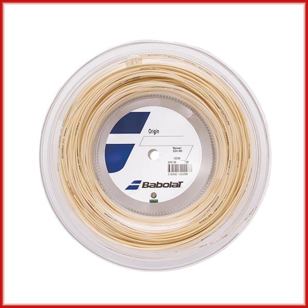 送料無料◆BABOLAT◆オリジン 125/130 BA243126R ロールタイプ バボラ 硬式テニスストリング