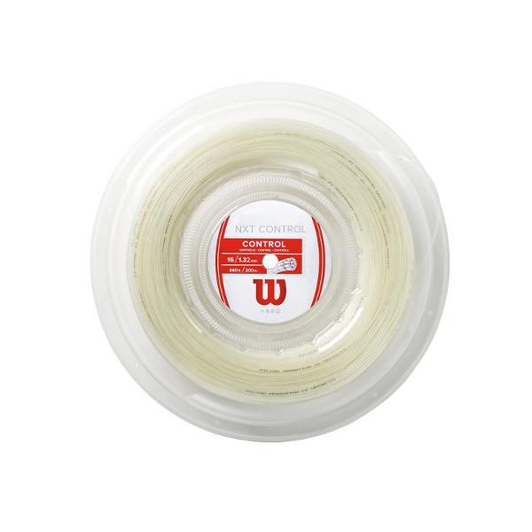 送料無料◆Wilson◆硬式テニスストリング NXT CONTROL 16 Reel WRZ912900 ウィルソン ロールガット