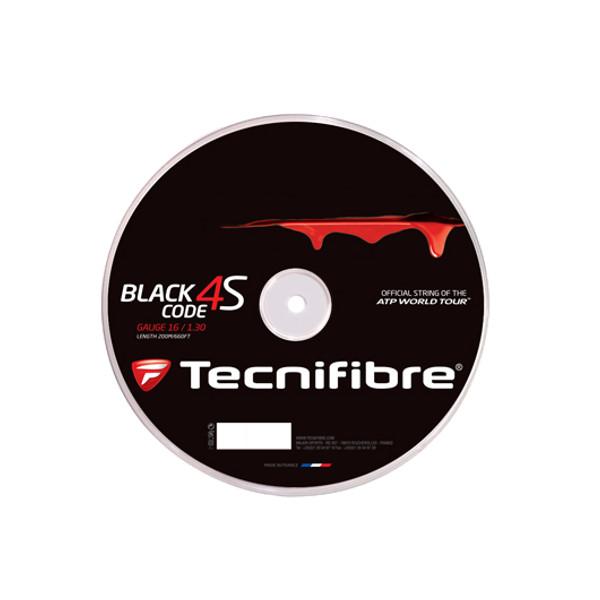 送料無料◆Tecnifibre◆BLACK CODE 4S TFR518 テクニファイバー 硬式テニス ストリング