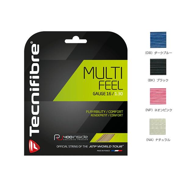 送料無料◆Tecnifibre◆2018年8月発売◆MULTI FEEL TFR920 テクニファイバー 硬式テニス ストリング ロールガット