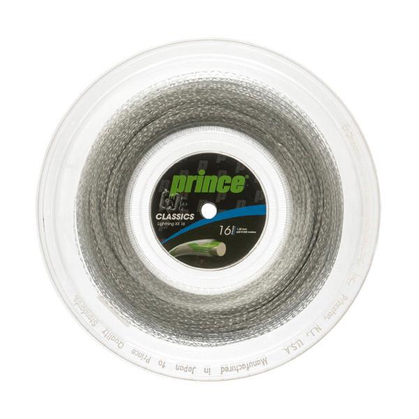 送料無料◆Prince◆ロールガット ライトニング XX 16 7J520 プリンス 硬式テニスストリング
