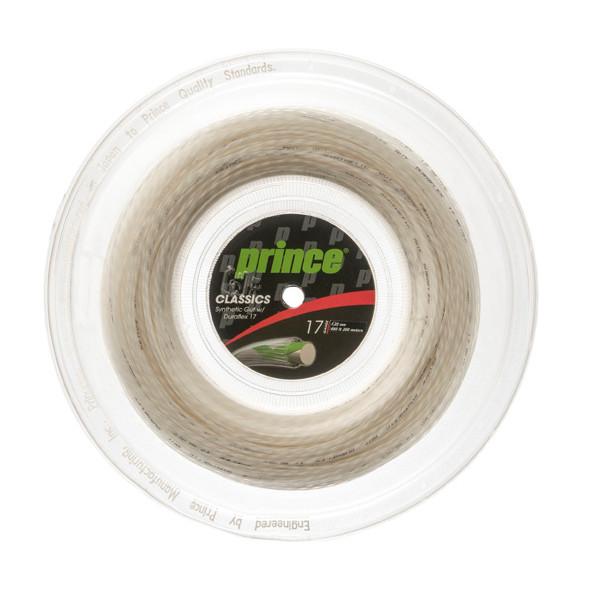 送料無料◆Prince◆ロールガット シンセティック ガット DF 17 7J501 プリンス 硬式テニスストリング