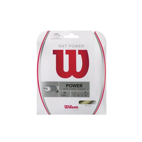 公式サイト 硬式テニスストリング ウィルソン Wilson NXT WRZ941600 POWER 正規店 16