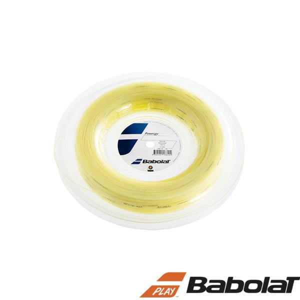 送料無料◆BABOLAT◆パワジー 130 BA243116R ロールタイプ バボラ 硬式テニスストリング