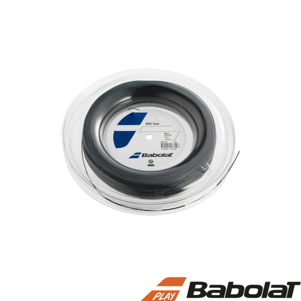 送料無料◆BABOLAT◆RPMチーム 125/130 BA243108R ロールタイプ バボラ 硬式テニスストリング