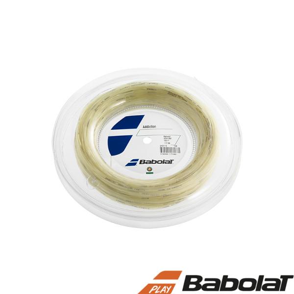 送料無料◆BABOLAT◆アディクション 125/130/135/ BA243115R ロールタイプ バボラ 硬式テニスストリング